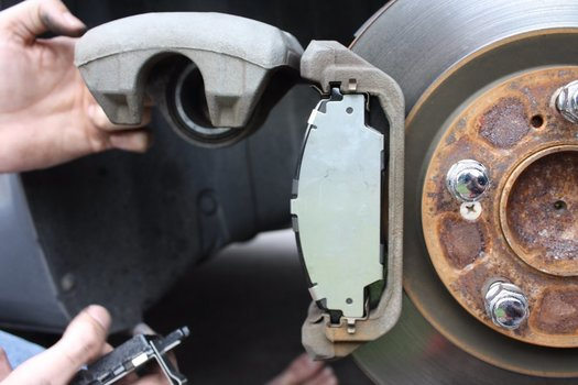 Image 7139 from Change the Front Brake Pads on a Honda S2000