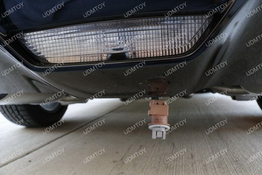 Image 6695 from Install the iJDMTOY LED Rear Fog Light on a Ford Mustang