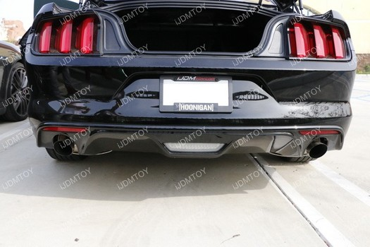 Image 6698 from Install the iJDMTOY LED Rear Fog Light on a Ford Mustang