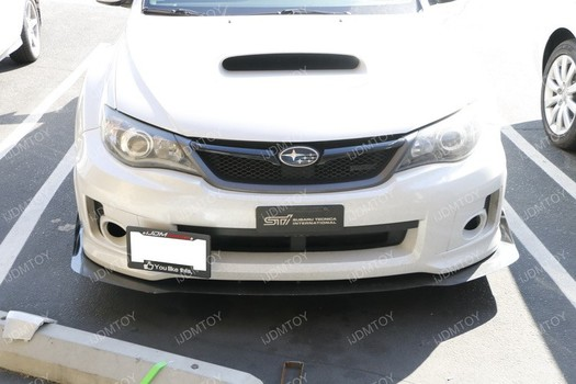 Install The Ijdmtoy Tow Hook License Plate Mount On A Subaru Wrx