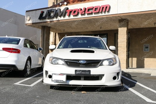Image 6804 from Install the iJDMTOY Tow Hook License Plate Mount on a Subaru WRX