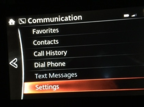 Image 6822 from Configure Bluetooth Settings for the iPhone on a 2016 Mazda CX-5