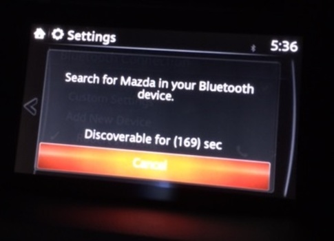 Image 6825 from Configure Bluetooth Settings for the iPhone on a 2016 Mazda CX-5