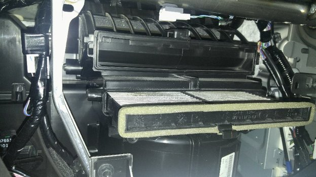 Image 6890 from Change the Cabin Air Filter on a Mazda CX-5