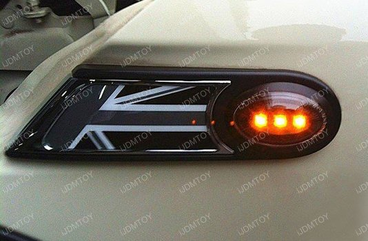 Image 6908 from Install the iJDMTOY LED Side Markers on a 2006-2014 Mini Cooper