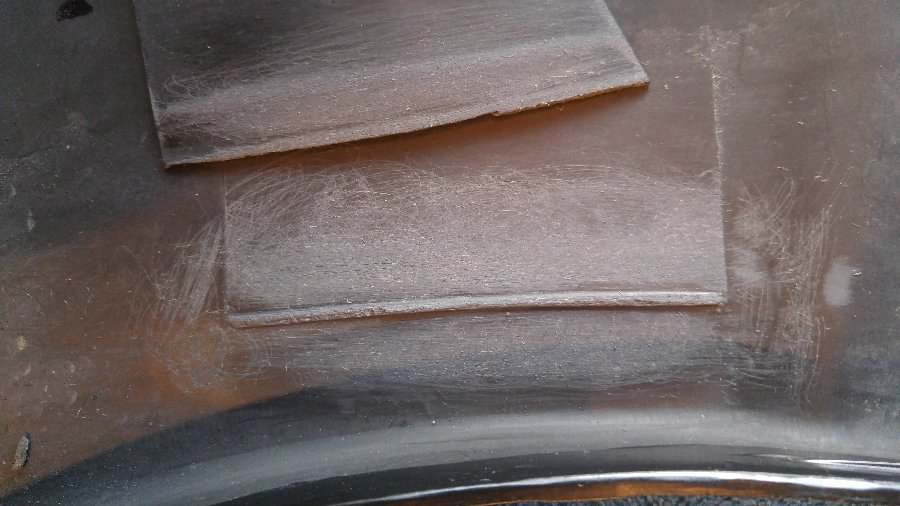 Image 7074 from Repair the Broken Plastic Cladding Tabs on a GMC