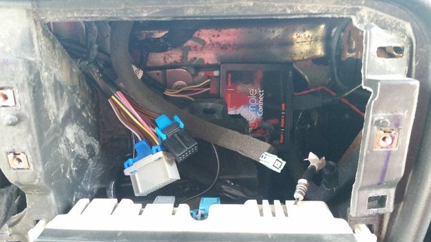 Image 7168 from Installing the PAC iSimple Connect ISGM655 on a 2007 Trailblazer SS