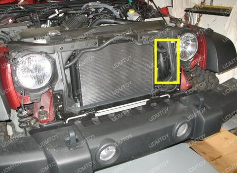 Image 7229 from Install the iJDMTOY LED Light Bar on a Jeep Wrangler