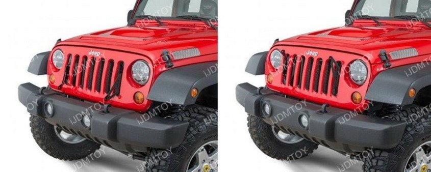 Image 7235 from Install the iJDMTOY LED Light Bar on a Jeep Wrangler