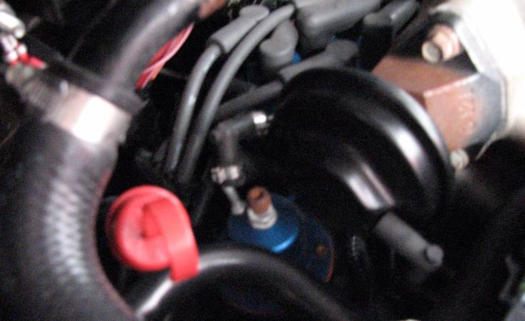 Image 2082 from Replacing Vacuum Hoses on a GMC Syclone