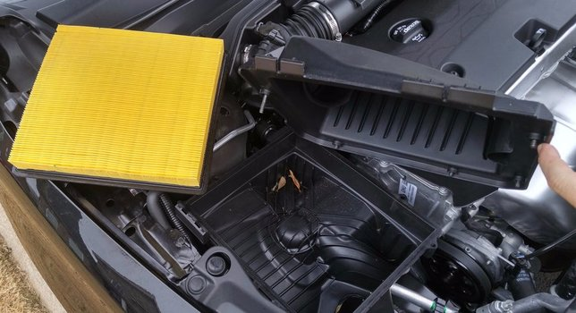 Image 7357 from Change the Engine Air Filter on a 2014-2017 Chevrolet Impala