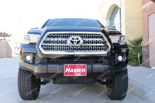 Image 7362 from Install the iJDMTOY LED Light Bar on a 2016-up Toyota Tacoma
