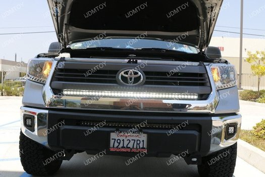 Image 7401 from Install the iJDMTOY LED Light Bar on a 2014-up Toyota Tundra