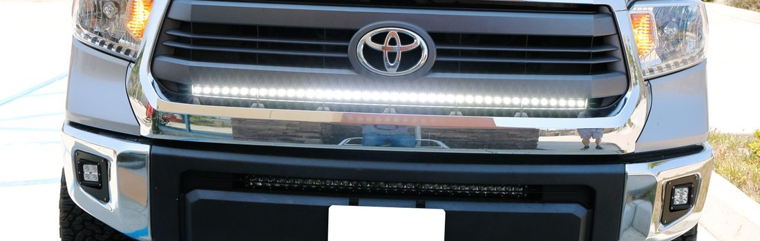 Install the iJDMTOY LED Light Bar
