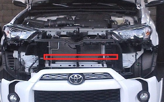 Image 7423 from Install the iJDMTOY LED Light Bar on a 2014-up Toyota 4Runner