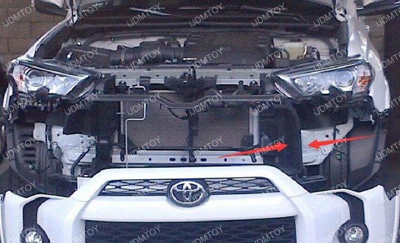 Image 7424 from Install the iJDMTOY LED Light Bar on a 2014-up Toyota 4Runner