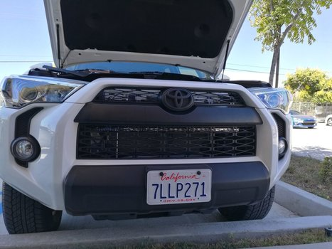 Image 7433 from Install the iJDMTOY LED Light Bar on a 2014-up Toyota 4Runner
