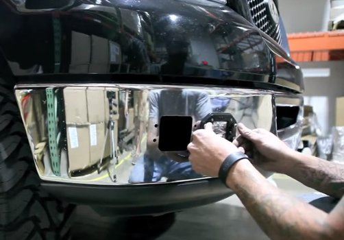 Image 7443 from Install the LED Pod Lights on a Off-Road Truck Jeep ATV 4WD 4x4 etc