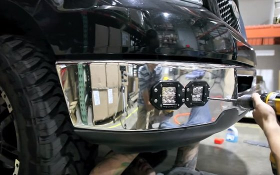 Image 7444 from Install the LED Pod Lights on a Off-Road Truck Jeep ATV 4WD 4x4 etc