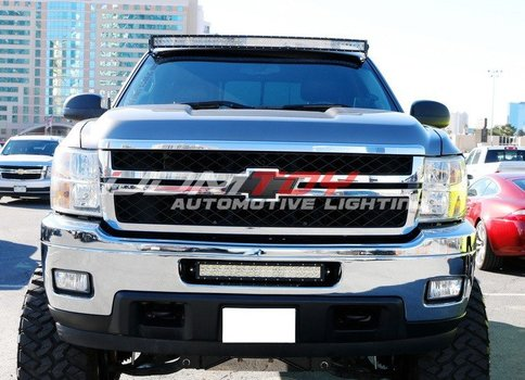 Image 7511 From Install The Lower Bumper LED Light Bar On A 2011 14  Silverado