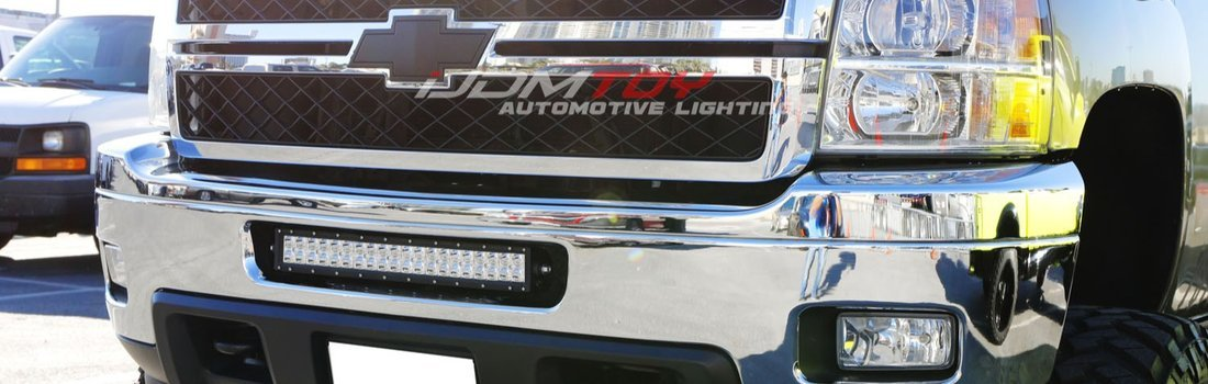 Install the Lower Bumper LED Light Bar on a 2011-14 Silverado 2500HD ...