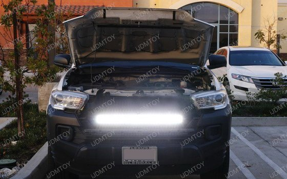 Image 7525 from Install the High Power LED Light Bar on a 2016-up Toyota Tacoma