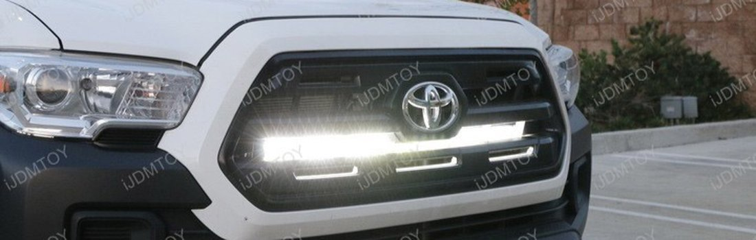 Install the high power led light bar on a 2016 up toyota tacoma aloadofball Image collections