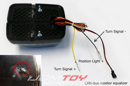 Image 7591 from Install the LED Turn Signal Lamps on a 1990-up Mercedes G-Class