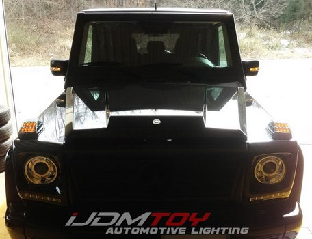Image 7595 from Install the LED Turn Signal Lamps on a 1990-up Mercedes G-Class