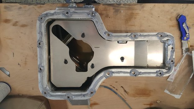 Image 7667 from Install the Moroso 20970 oil pan on a Lotus Exige or Elise
