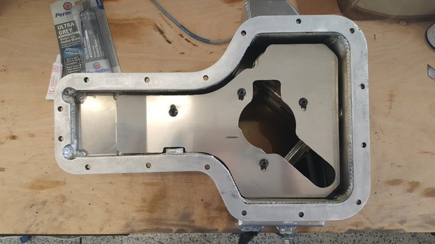 Image 7669 from Install the Moroso 20970 oil pan on a Lotus Exige or Elise