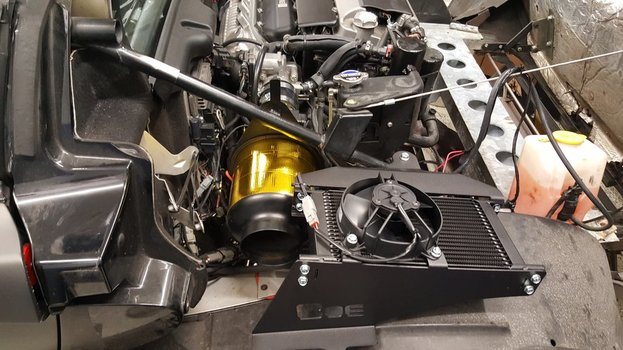 Image 7730 from Install the BOE rear oil cooler solution on a Lotus Exige or Elise