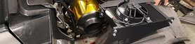 Install the BOE rear oil cooler solution