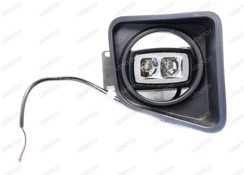 Image 7645 from Install the SR-MINI 10W LED Pod Light on a Toyota Tundra