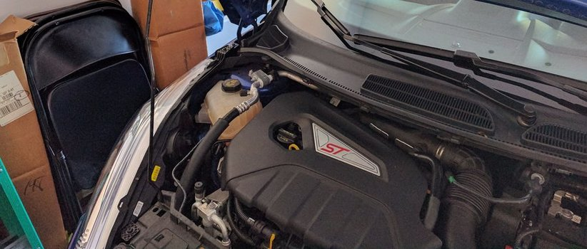 Image 7679 from Check the Coolant Level on a 2014 Ford Fiesta ST