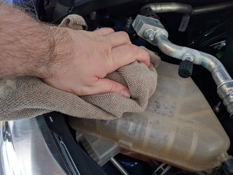 Image 7682 from Check the Coolant Level on a 2014 Ford Fiesta ST