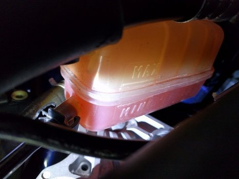 Image 7684 from Check the Coolant Level on a 2014 Ford Fiesta ST