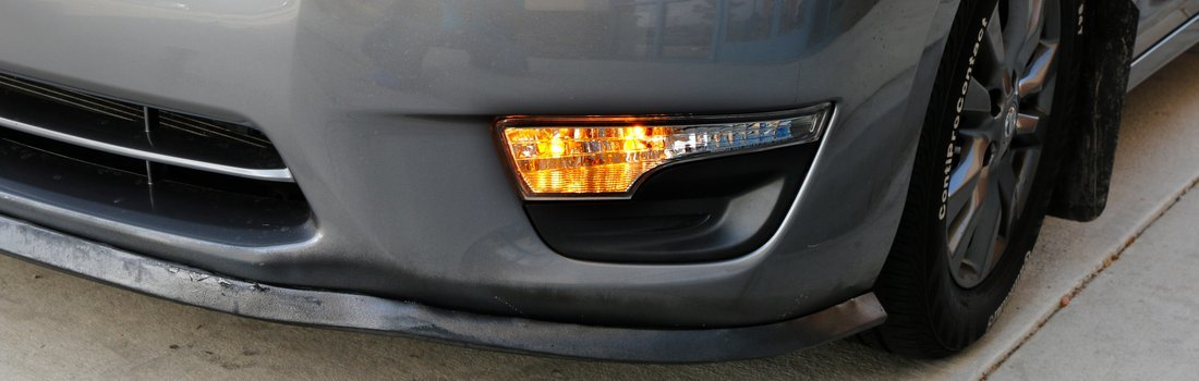 Install the LED DRL/Turnsignal Lights
