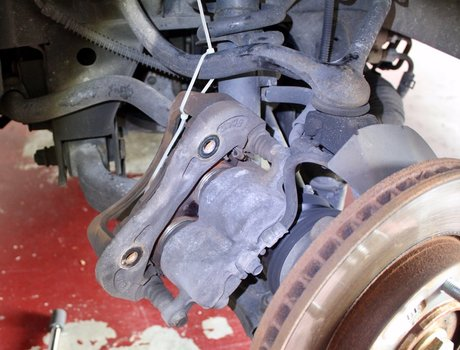 Image 7743 from Change the Front Brake Pads and Rotors on a 2003-2006 Kia Sorento