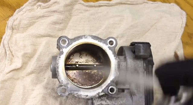 Image 7751 from Clean the Throttle body on a Fuel Injected Car
