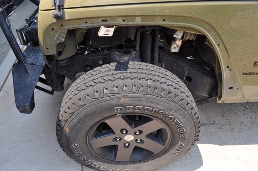 Image 7771 from How to Install the Fender Flares on a 2013 Jeep Wrangler