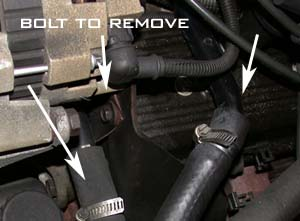 Image 299 from Replacing  Metal Intercooler Lines on a GMC Syclone / Typhoon