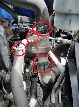 Image 7846 from Replace the Thermostat on a 2005 to 2010 Mustang GT