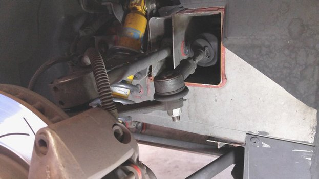 Image 7927 from Change the Steering Rack on a Lotus Elise or Exige