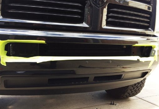 Image 7981 from Install the 40'' 240W LED Light Bar on a 2010-2017 Dodge RAM 2500 3500