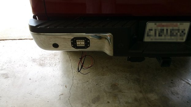 Image 7986 from Install the Flush Mount LED Pod Lights on a Universally Fit Truck or SUV
