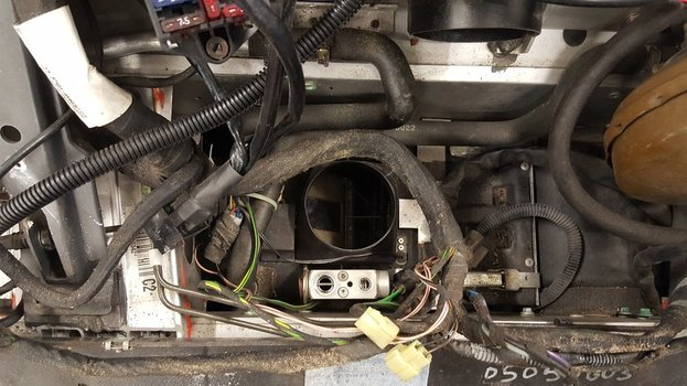 Image 8121 from Remove the Air Conditioning system on a Lotus Exige