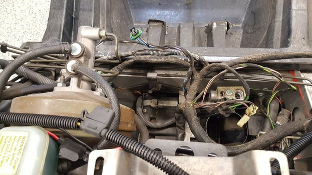 Image 8124 from Remove the Air Conditioning system on a Lotus Exige