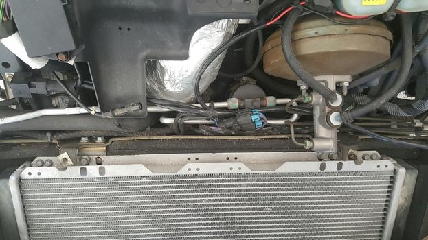 Image 8126 from Remove the Air Conditioning system on a Lotus Exige