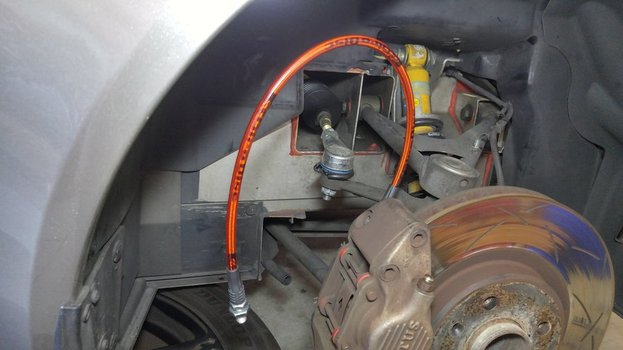 Image 8706 from Install Stainless Steel Braided Brake Lines on a Lotus Elise or Exige